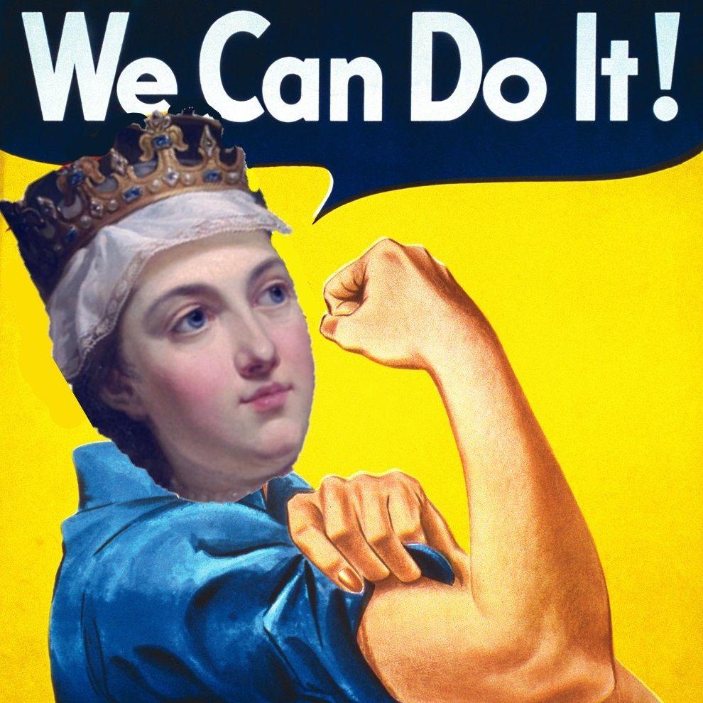 """Królowa Jadwiga zdecydowanie była """"babą z jajami"""". Zresztą silnych kobiet w historii Polski bynajmniej nie brakowało!"""
