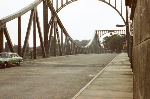 Wymiany szpiegów dokonano na moście Glienicke.