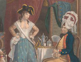 Kobiecy strój często bywał najlepszym przebraniem dla mężczyzny!
