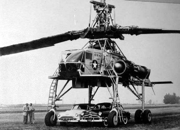 W Dolinie Krzemowej znajdowały się siedziby firm produkujących sprzęt dla sił zbrojnych USA. Na zdjęciu Hughes XH-17.