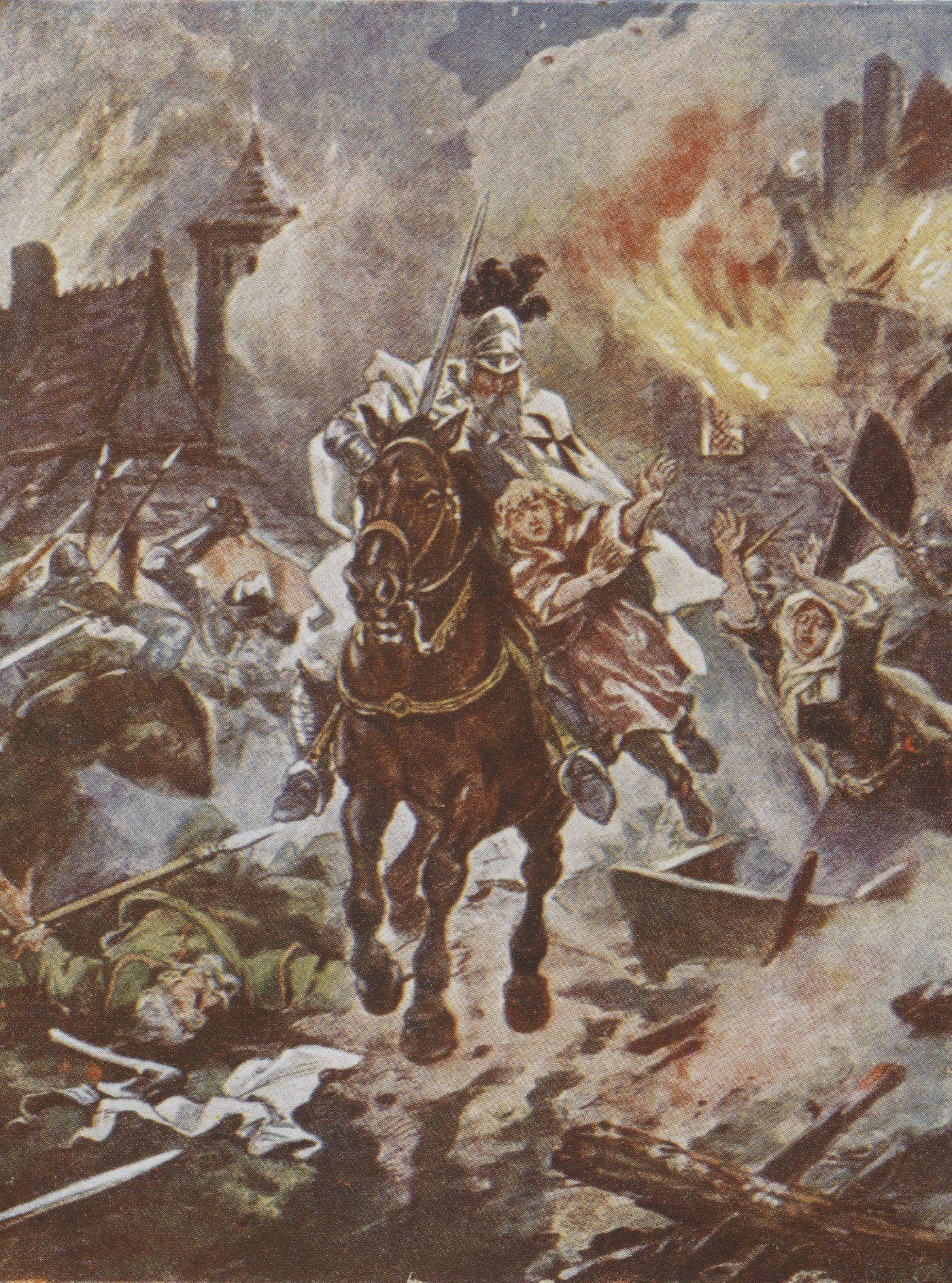 Zdaniem profesora Chwalby, gdyby nie doszło do rozbicia dzielnicowego, nie trzeba byłoby również sprowadzać Krzyżaków do walki z Prusami.