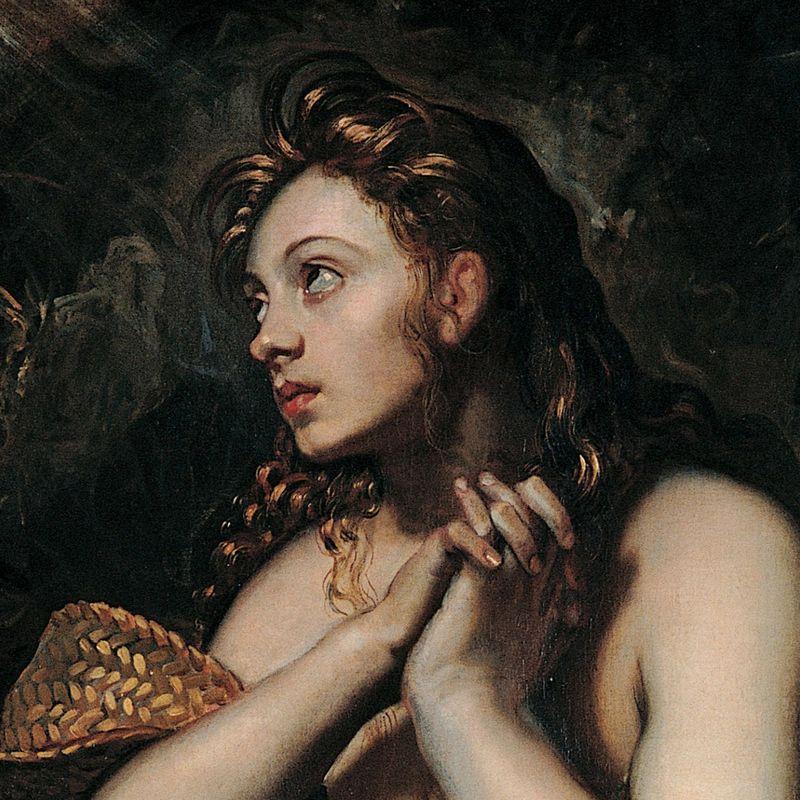 Maria Magdalena według Domenico Tintoretto.