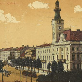 Międzywojenna Warszawa na pocztówce z ok. 1932 roku.