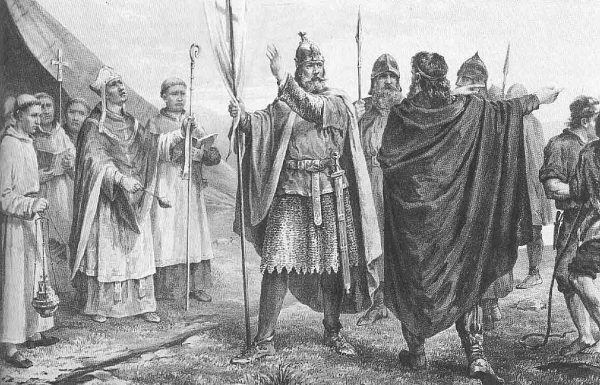 Olaf I Tryggvason chrystianizował swój naród siłą. I nie wahał się przed używaniem w tym celu tortur.