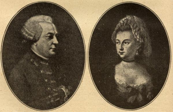 Charles d'Eon jako mężczyzna i kobieta.