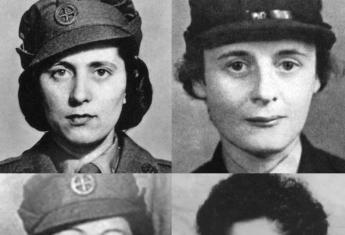 """Te cztery kobiety spłonęły żywcem, bo hitlerowcy nie chcieli urządzać """"spektaklu"""". (Od góry od lewej: Andrée Borrel, Diana Rowden, Vera Leigh i Sonia Olschanezky)"""