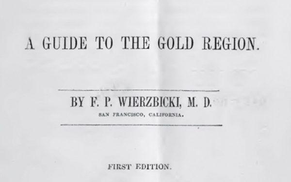 Pierwsze wydanie książki Wierzbickiego ukazało się w 1849 roku.