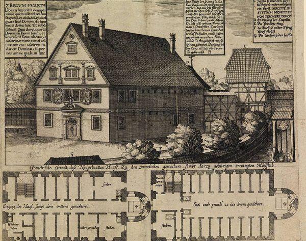 Wiedźmi dom w Bambergu, gdzie osoby podejrzane o czary poddawano brutalnym przesłuchaniom.