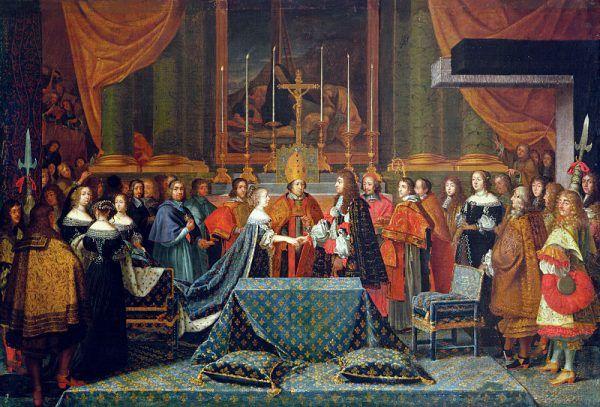 Ludwik XIV nie spieszył się do ożenku. I choć ostatecznie nawet polubił żonę, przez cały czas ją zdradzał.
