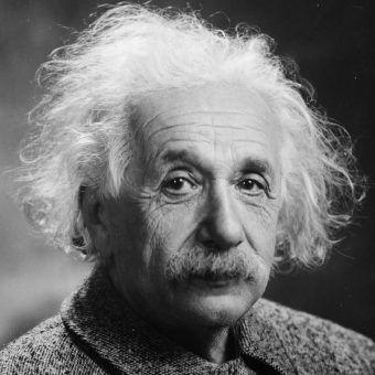 Albert Einstein w 1921 roku.