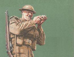 Brytyjski plakat propagandowy z czasów II wojny światowej (fot. z kolekcji Imperial War Museum, domena publiczna)