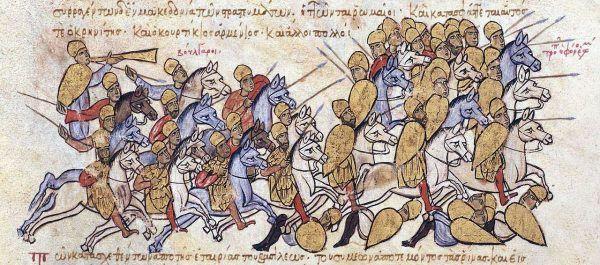 Bizantyńczycy mieli na koncie niejedną przegraną bitwę.