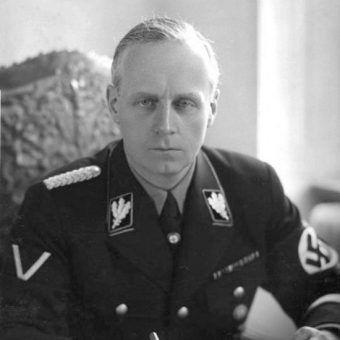 Joachim von Ribbentrop, minister spraw zagranicznych III Rzeszy.