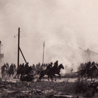 Manewr Kutrzeby zupełnie zaskoczył Niemców. Zdjęcie poglądowe.