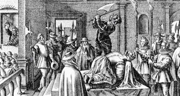 Z powodu błędu kata egzekucja Marii przerodziła się w makabryczny spektakl.