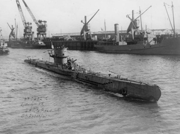 Niemieckie U-Booty w początkowej fazie II wojny zadawały aliantom ogromne straty. Na zdjęciu U-570.
