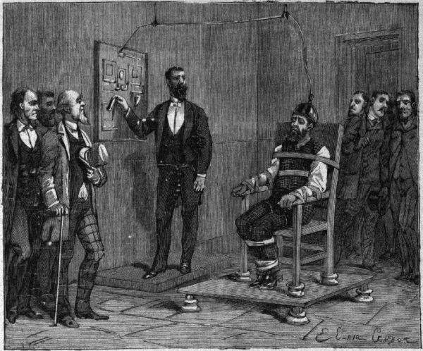 Pierwszym człowiekiem zabitym na elektrycznym krześle był William Kemmler.