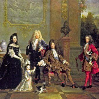 Ludwik XIV z rodziną (fot. domena publiczna)