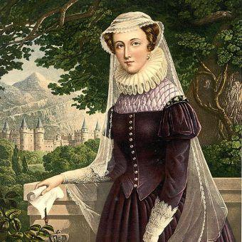 Maria Stuart była pierwszą władczynią, która położyła głowę pod topór.