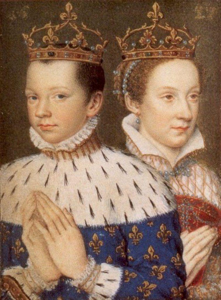 Dążąc do zacieśnienia sojuszu z Francją Maria doprowadziła do ślubu nastoletniej córki z delfinem Franciszkiem.