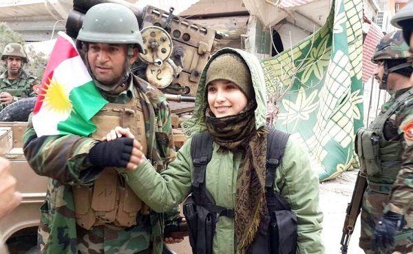 Peszmergowie i YPG walczyli w Kobane ramię w ramię(fot. Kurdishstrugle, lic. CC BY 2.0)