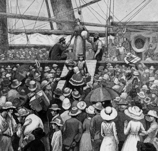 Pod koniec XIX wieku Australia stała się celem wielu podróżników, przyciągniętych między innymi wizją znalezienia złota.