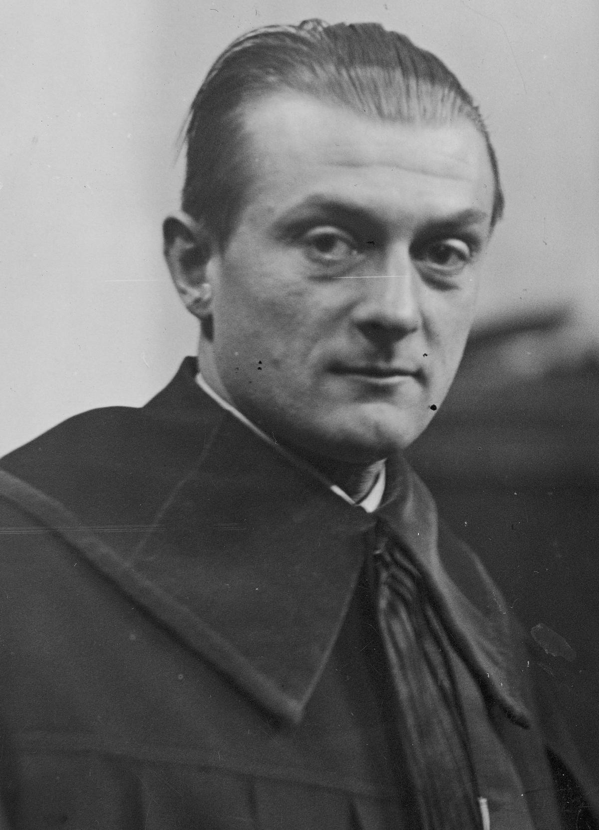 Mikiciński potrafił bez większego problemu wyciągnąć z niemieckiego obozu szwagra Zygmunta Gralińskiego (na zdjęciu).
