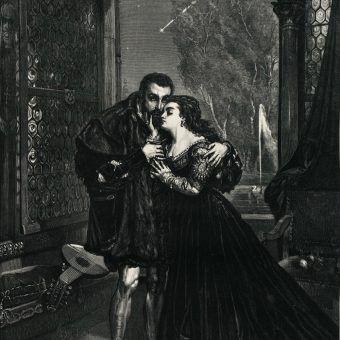 Zygmunt II August i Barbara Radziwiłłówna na obrazie Matejki (fot. domena publiczna)