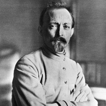 Feliks Dzierżyński w 1918 roku.