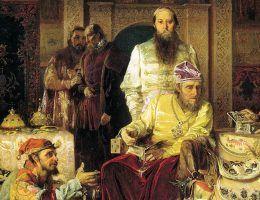 Iwan IV - pierwszy car Rosji.