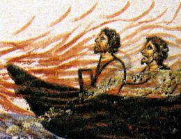 Ofiary cudownej broni Bizantyńczyków ginęły, płonąc żywcem.