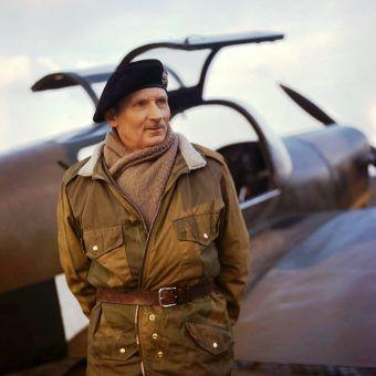 Bernard L. Montgomery wsławił się między innymi pokonaniem Erwina Rommla pod El Alamein.