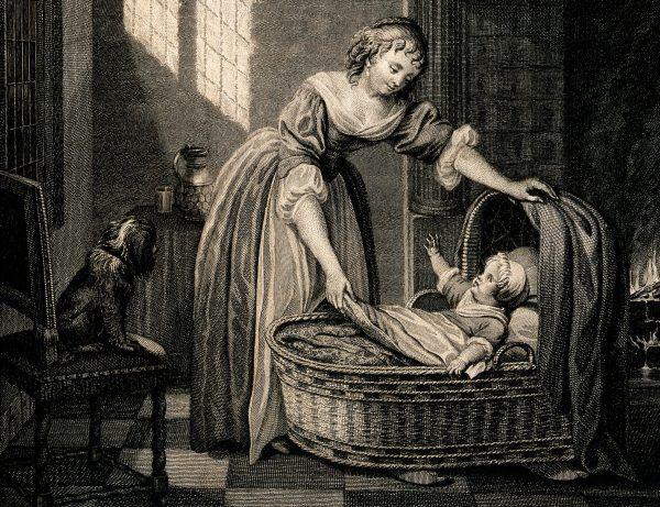 Pozbycie się niechcianego dziecka przez natarcie go arszenikiem to brutalny, lecz także kreatywny sposób na morderstwo (ilustracja poglądowa).