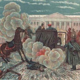 Polak, Ignacy Hryniewiecki, zamordował cara Aleksandra II, zrzucając bombę na jego karocę.