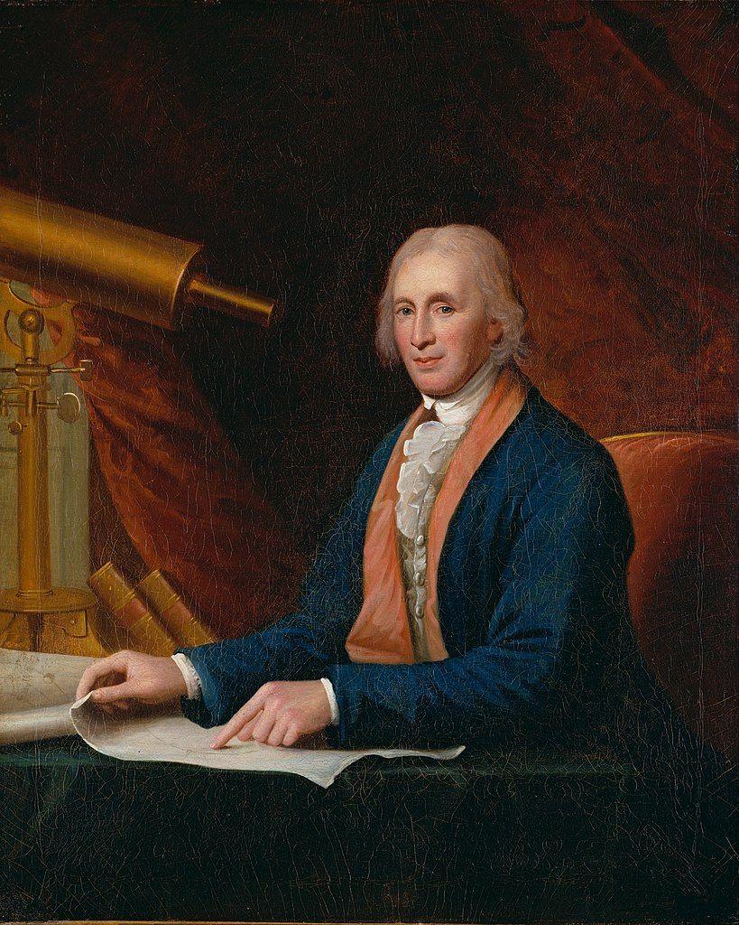 David Rittenhouse był zachwycony kompetencjami Kościuszki.