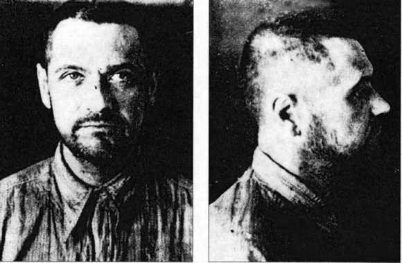 Eugeniusz Bodo po aresztowaniu przez NKWD 1941