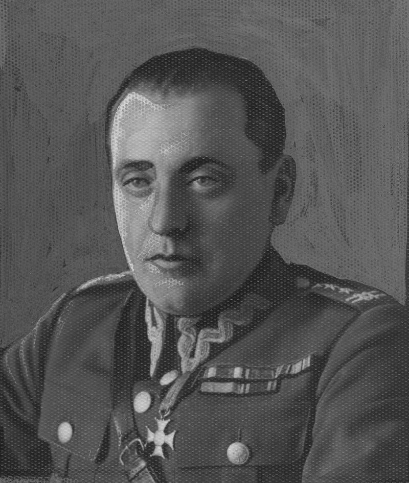 W uznanie zasług Maczek został we Francji awansowany przez Naczelnego Wodza na generała. Na zdjęciu Stanisław Maczek jeszcze jako pułkownik.