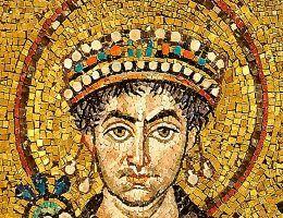 Cesarz Justynian przez niemal 40 lat rządził Bizancjum.