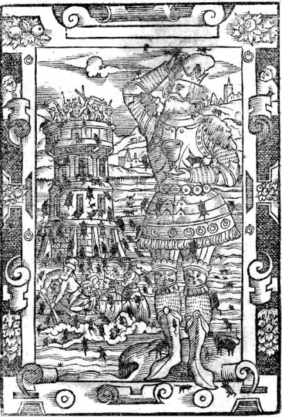 Według legendy myszy dopadły Popiela w wieży na tajemniczej wyspie położonej na środku jeziora.