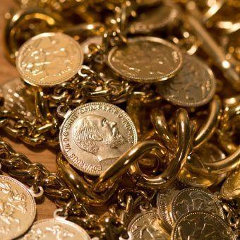 Złoto było jednym z najbardziej chodliwych towarów. Polacy przemycając je nie mieli umiaru. (lic. CC0)