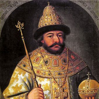 Borys Godunow przejął tron w 1598 roku.