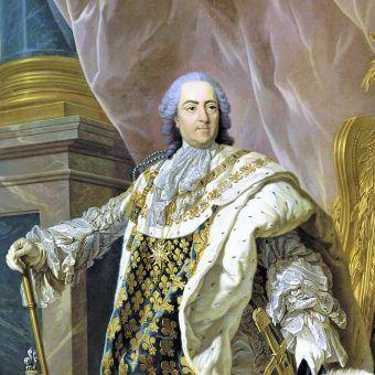 Ludwik XV był prawnukiem Króla Słońce - Ludwika XIV.
