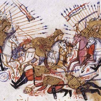 W bizantyńskiej armii wyróżniała się ciężkozbrojna jazda.