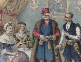Za panowania Fiodora III polski był językiem carskiego dworu, a najmodniejszym strojem wśród mężczyzn był polski kontusz.