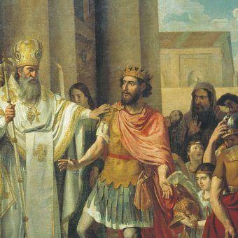 Włodzimierz I Wielki jako pierwszy władca Rusi przyjął chrzest.