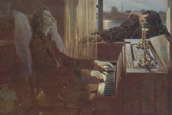 Stan zdrowia Chopina coraz bardziej się pogarszał. Kompozytor był przeraźliwie szczupły i wyniszczony chorobą.