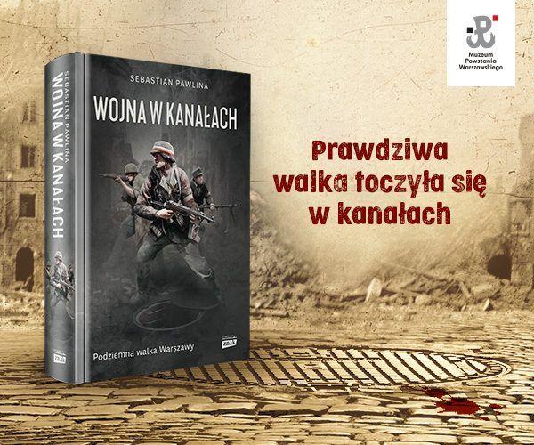 """Kup książkę Sebastiana Pawliny """"Wojna w kanałach"""" z rabatem!"""