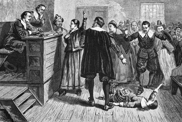 Dziewczęta, które rzucały oskarżenia w Salem, wykazywały się niezwykłymi umiejętnościami aktorskimi. Ich popisowym numerem były drgawki i opętańcze krzyki.