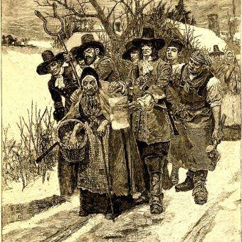 Aresztowanie czarownicy a Ameryce (fot. domena publiczna)