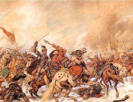 Bitwa pod Pskowem Kossak mini